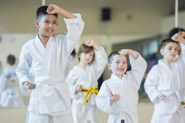 Turned off by team sports? Give karate a try