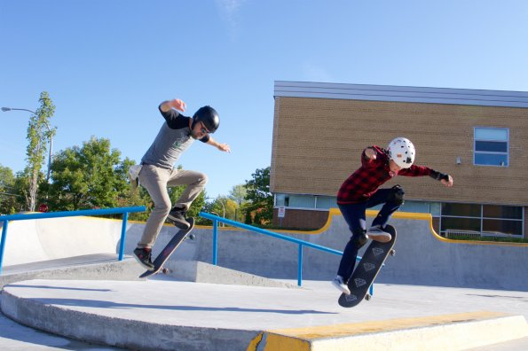 Skateboarding: Not just for teens