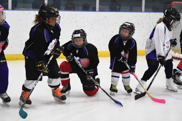Free beginner hockey program helps get more girls into the game