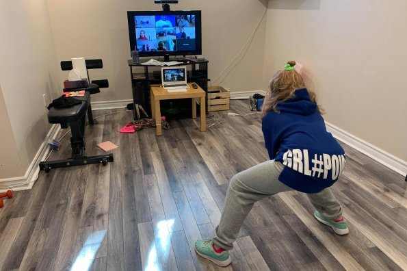 Coaches get creative to stay connected with young athletes at home