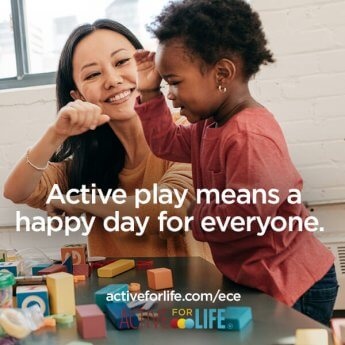 Active play means a happy day for everyone