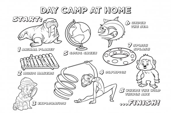 "Keep kids busy with Active for Life's summer ""day camp"" — at home"