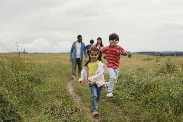 How to get your kids to love being active
