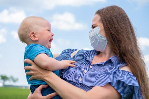 Tips to help introduce face masks to young kids
