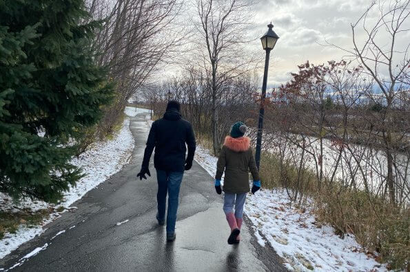 The simplest way to get active as a family? Add a daily walk to your routine