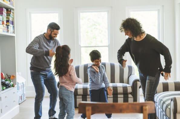 Quatre activités hivernales d'intérieur pour les enfants
