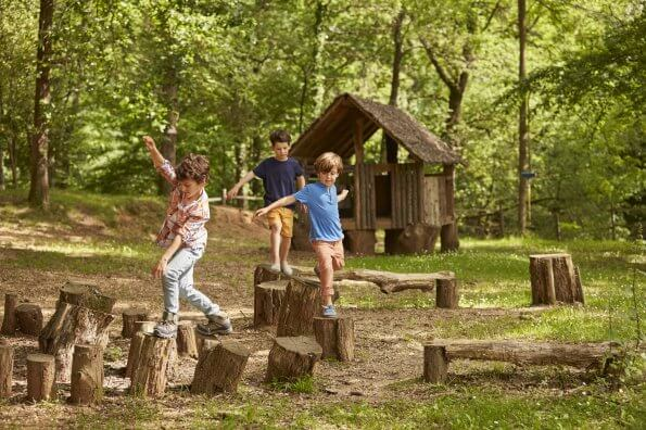 PE in the forest: Group activities to develop movement skills in the woods