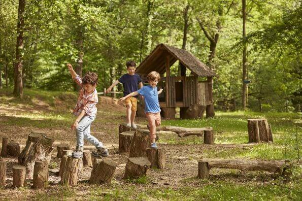 Éducation physique dans la forêt : des activités de groupe pour développer les habiletés motrices