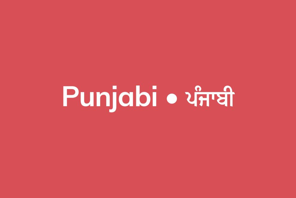 Punjabi resources