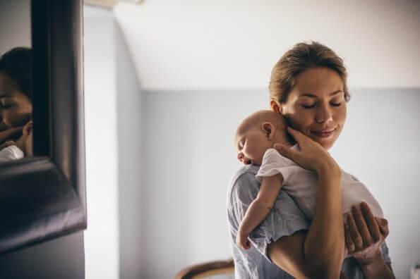 Rester active et en santé après l'accouchement