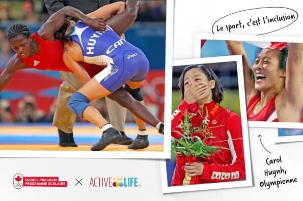 La sororité des lutteuses : La médaillée d'or olympique Carol Huynh discute d'inclusion et de camaraderie