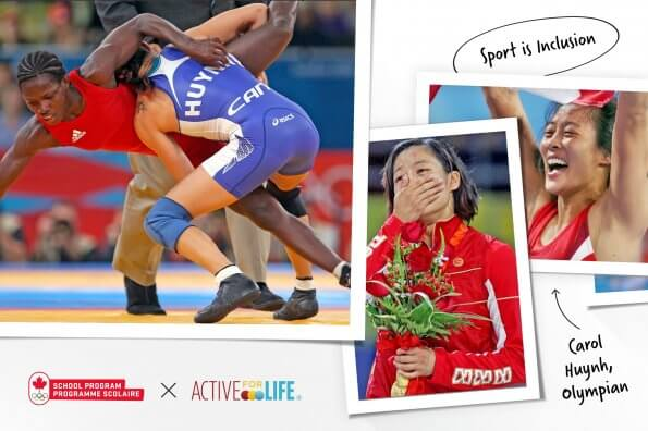 Wrestling the sisterhood: Olympic gold medalist Carol Huynh on inclusion and camaraderie