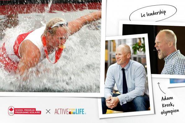 Leçons de vie en matière de leadership : Adam Kreek, médaillé d'or olympique, explique comment le sport chez les jeunes aide à former des adultes accomplis