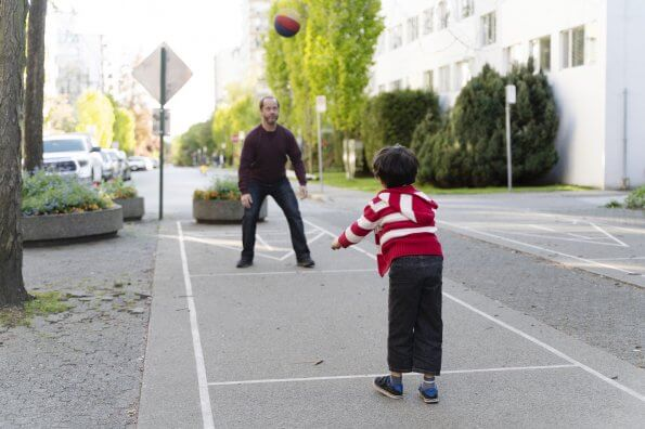 Sidewalk games for when you can't get to the park (and don't have a yard)