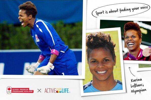 Olympic soccer powerhouse Karina LeBlanc on finding her voice