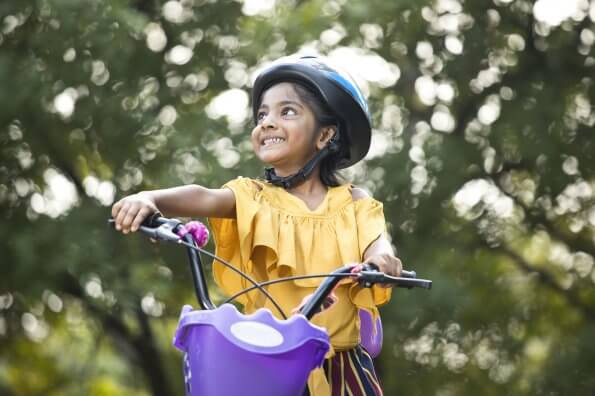 When are your kids ready to ride bikes independently?