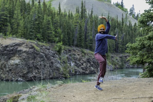 One Yukon dancer's mission to lift Canadians' spirits through positivity and bhangra