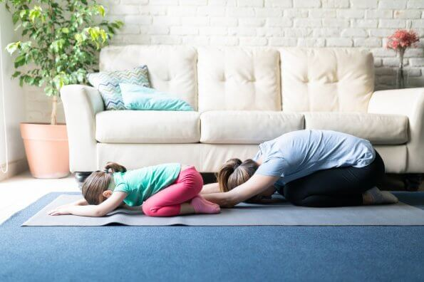 Yoga techniques to help your kids sleep