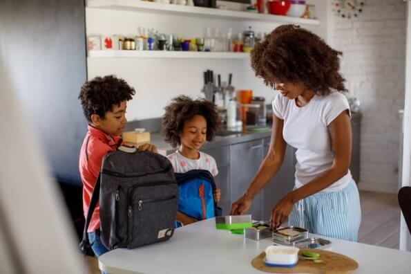 Des idées de repas sains pour la semaine à l'école
